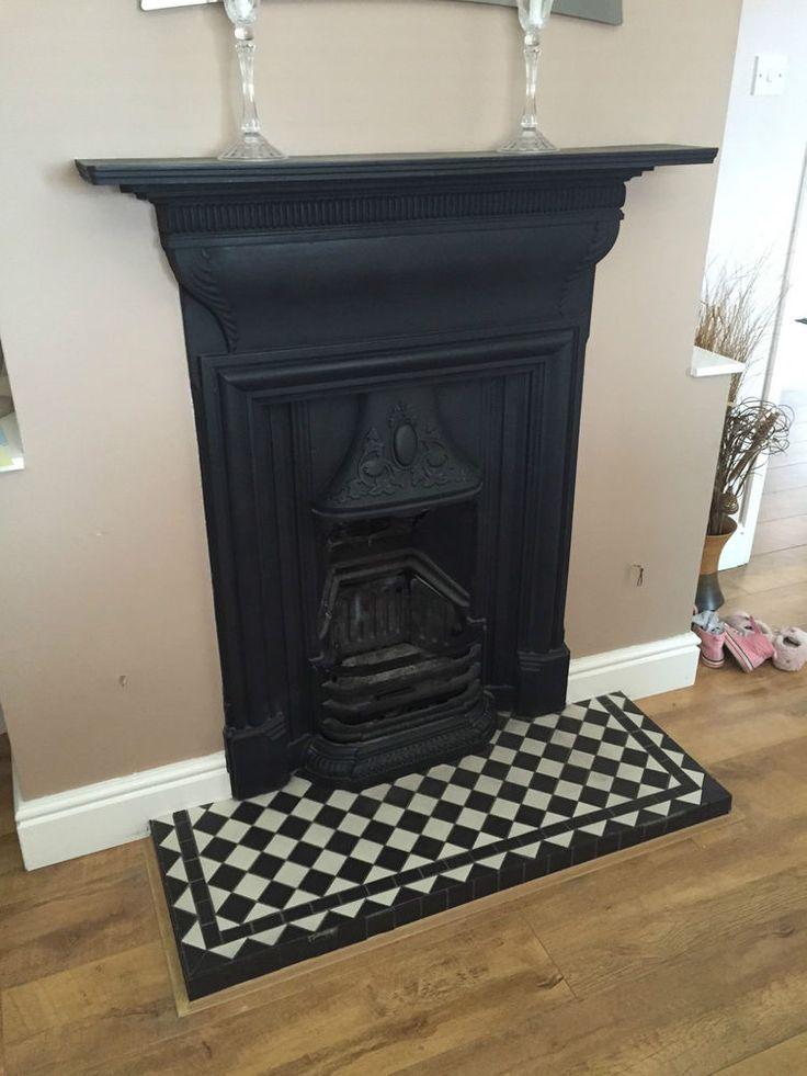 Not so much the fireplace as the chequered hearth