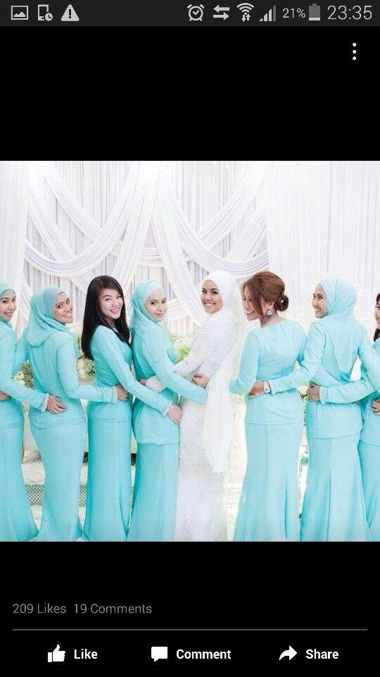 Muslimah bridesmaid