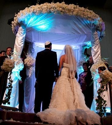 Persian Jewish Wedding Ceremony Chuppah