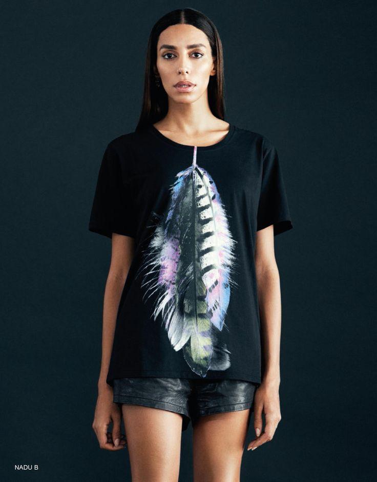 PLUMA black t-shirt