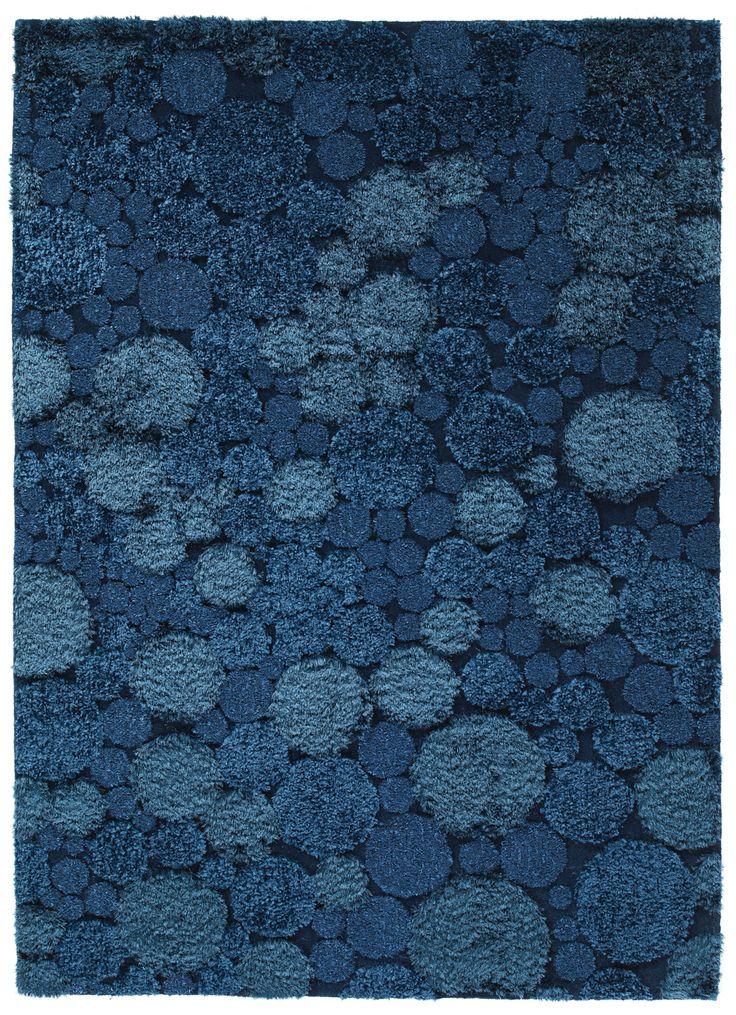 Mercer Rug By Stepevi Vedia Sphere Color Ocean Blue