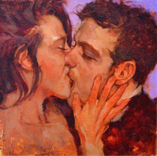Joseph Lorusso (1966) Passionate Kiss