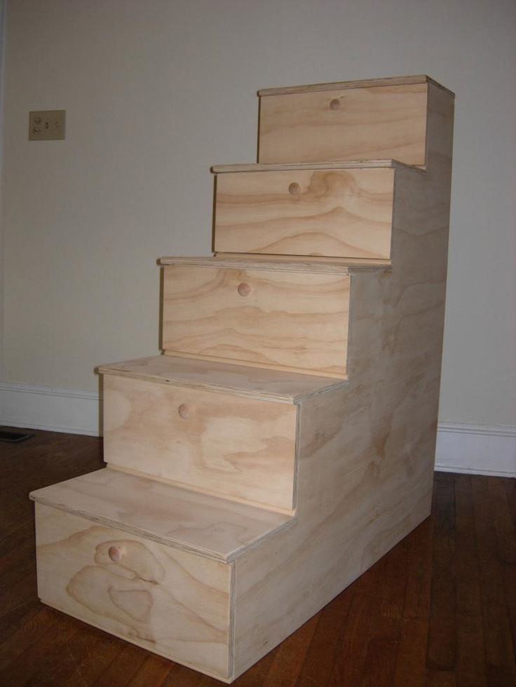 Build Your Own Bunk Beds With Stairs Woodworking
