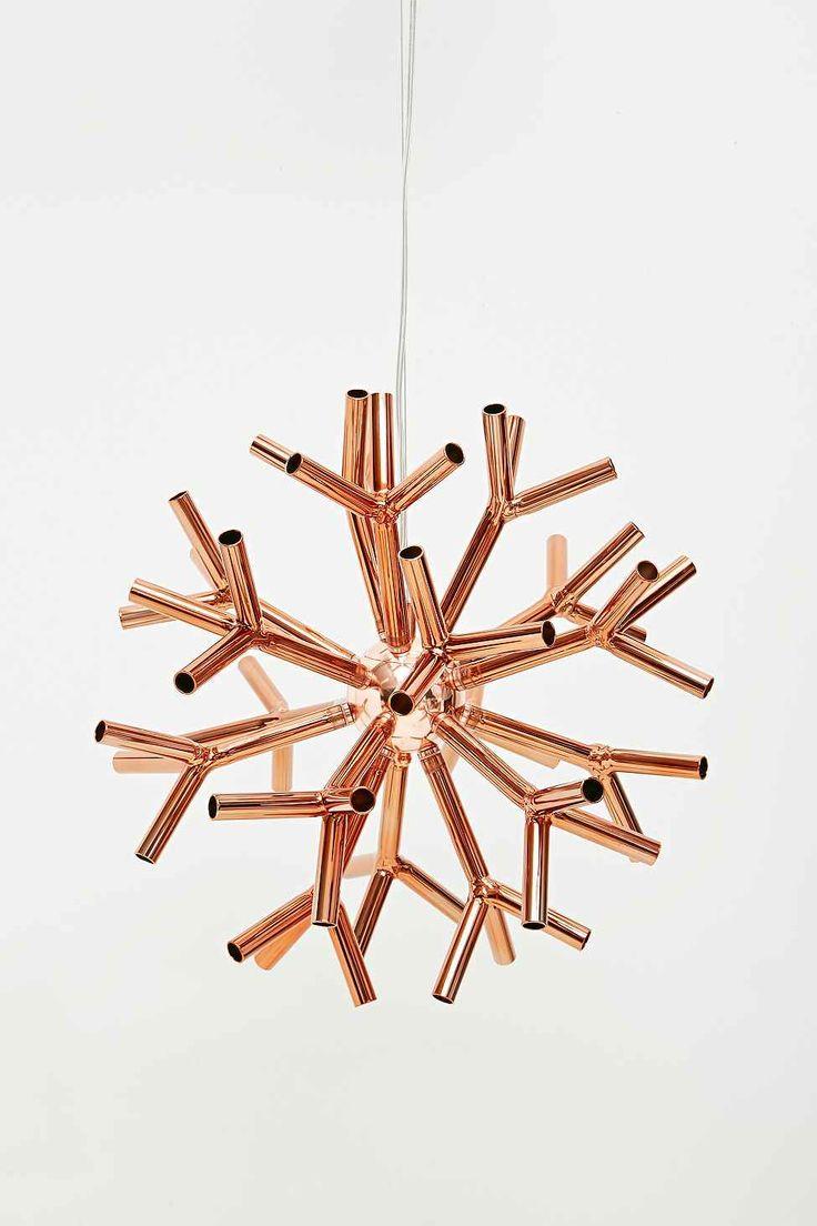 Kare Corallo Pendant Lamp In Copper