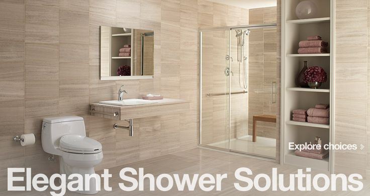 Make Your Own Bathroom Design : Aging in place bathroom product solutions kohler bold