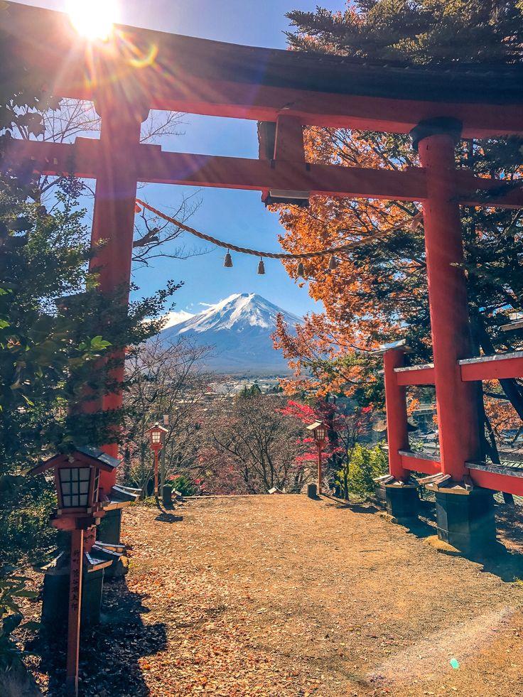 Views of Mount Fuji from Lake Kawaguchi : Frame Mo…