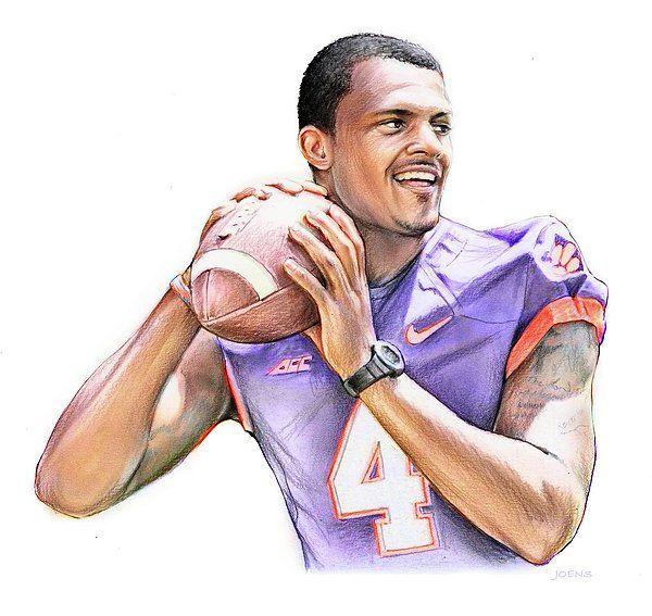 Clemson quarterback DeShaun Watson