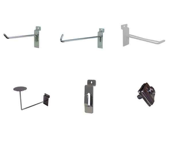 Quality Display Fixtures & Slatwall Accessories - http://www.idealdisplays.ca/04_slatwall_accessories.html