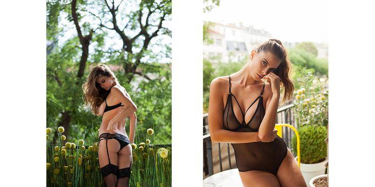 Brigade Mondaine for YUME Magazine Alexandra Zimny by Celine Andrea
