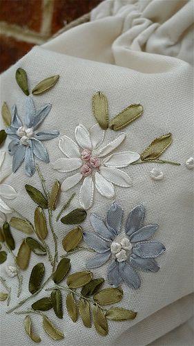 Ribbon Embroidery Bag | Flickr - Photo Sharing!