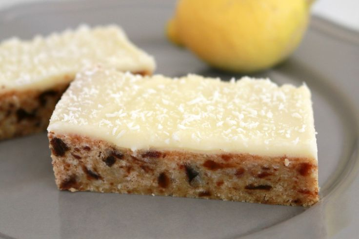 This Thermomix Date & Lemon Slice is the yummiest thing you will ever make!