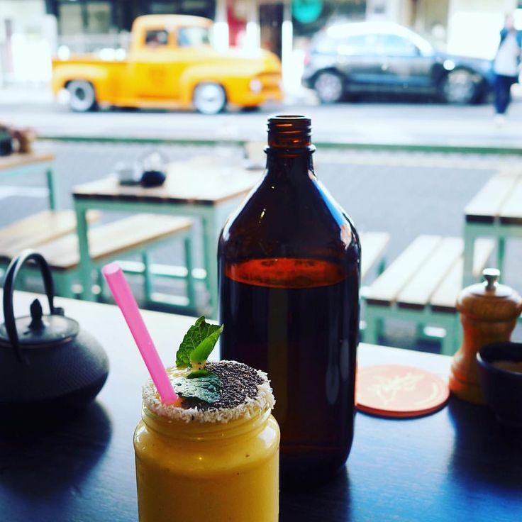 Mango drink. Mango view!