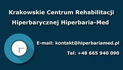 Hiperbaria-med, Centrum Rehabilitacji Hiperbarycznej