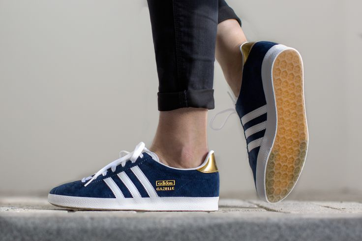 Adidas Gazelle Night Indigo Gold