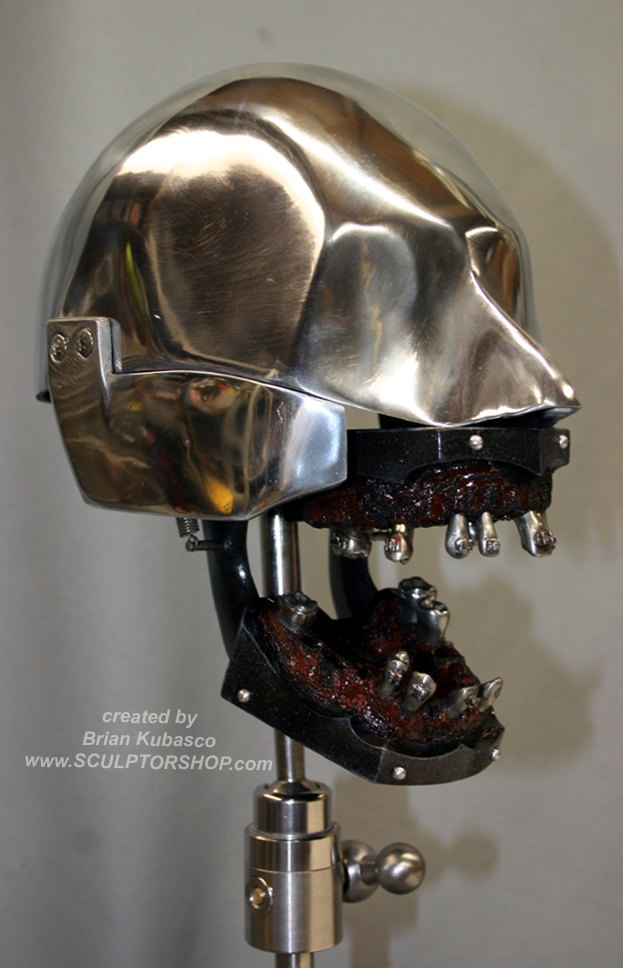 Dental Manikin / Phantom head Vintage Oddities Steampunk Teeth Skull. $1,400.00, via Etsy.