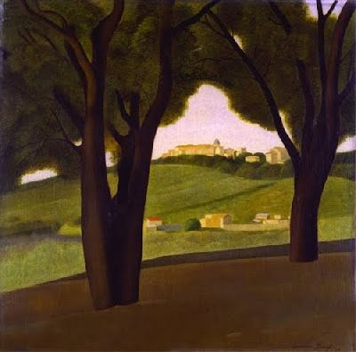 Antonio Donghi - Castelgandolfo 1929