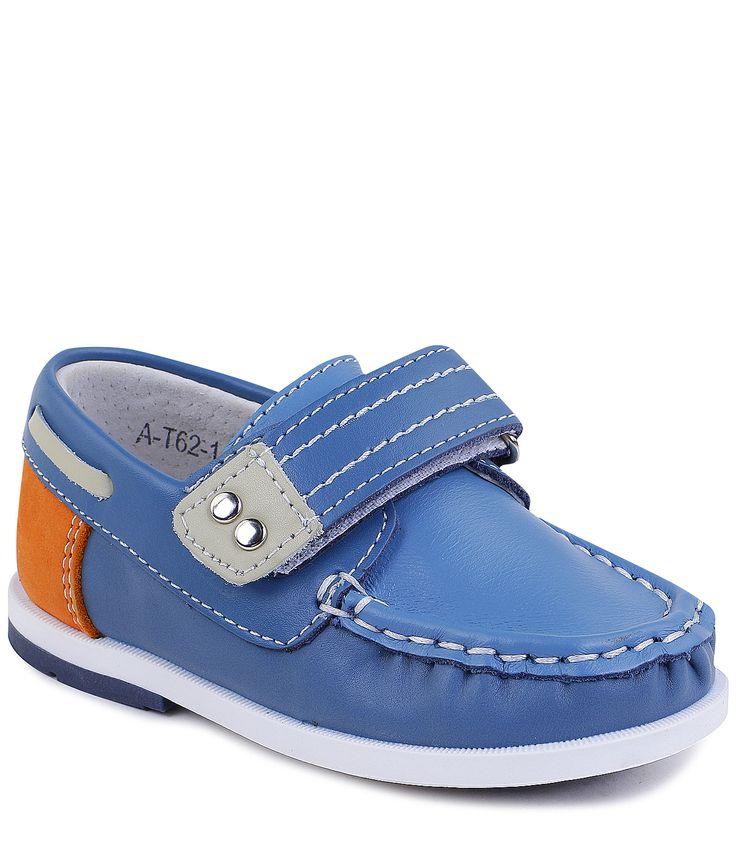 Купить мокасины для мальчика TOM.M летние синие в интернет-магазине Kinderly - артикул TMM-A-T62-11-C