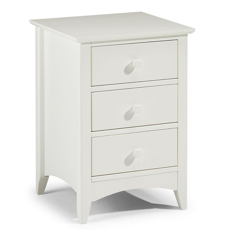 Julian Bowen Cameo 3 Drawer Bedside | Furniture | The Range