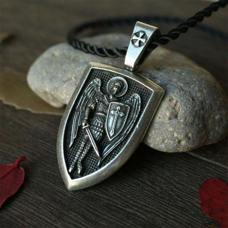 St. Michael Shield Necklace - Pluto99