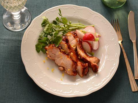 ゆず香る鶏の照り焼き  https://recipe.yamasa.com/recipes/1889