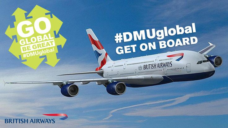 Get on board with #DMUglobal now, there are some fantastic opportunities available!