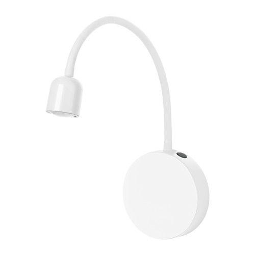 IKEA - BLÅVIK, Wandleuchte, LED, batteriebetrieben weiß, , Ohne Bohren leicht anzubringen. Entweder mittels Saugnapf, selbstklebender Rückseite oder mit Schrauben.Bietet zusätzliche Beleuchtung; ideal zum Rasieren oder Make-up-Auflegen.Leicht nach Wunsch zu platzieren, da durch Batteriebetrieb keine Elektroinstallation erforderlich ist.Die Leuchte kann manuell oder Energie sparend mit der 15-Min.-Automatik ausgeschaltet werden.Dank des biegsamen Arms kann der Lichtkegel nach Bedarf…