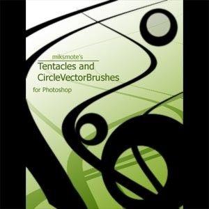 Tentáculos y Vector Círculo