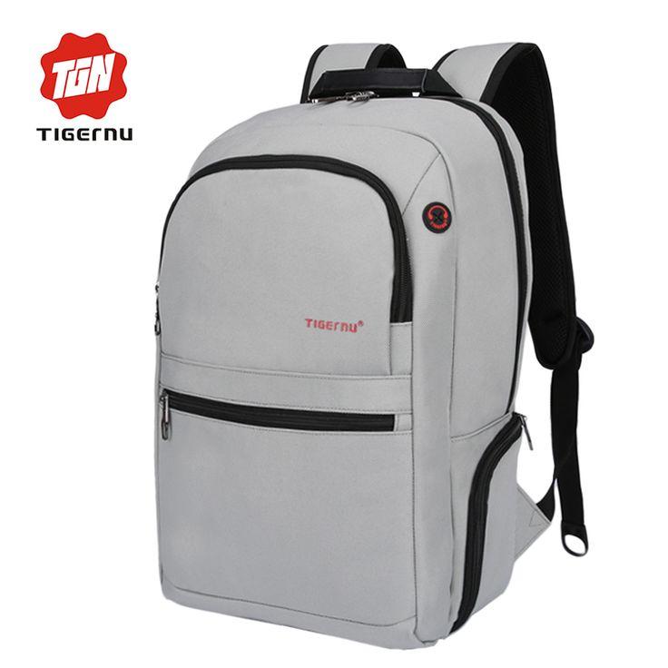 2017 Tigernu Brand New Design Laptop Case Backpack Bag Men's Notebook 15.6 inch Mochila Business Laptop Backpack For Women Bags