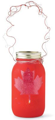An awesome decoration idea from Michaels to celebrate my personal favorite holiday - Canada Day!!! #indigo #perfectsummer