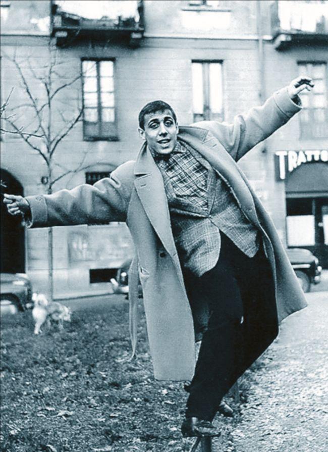 Adriano Celentano. 1950s