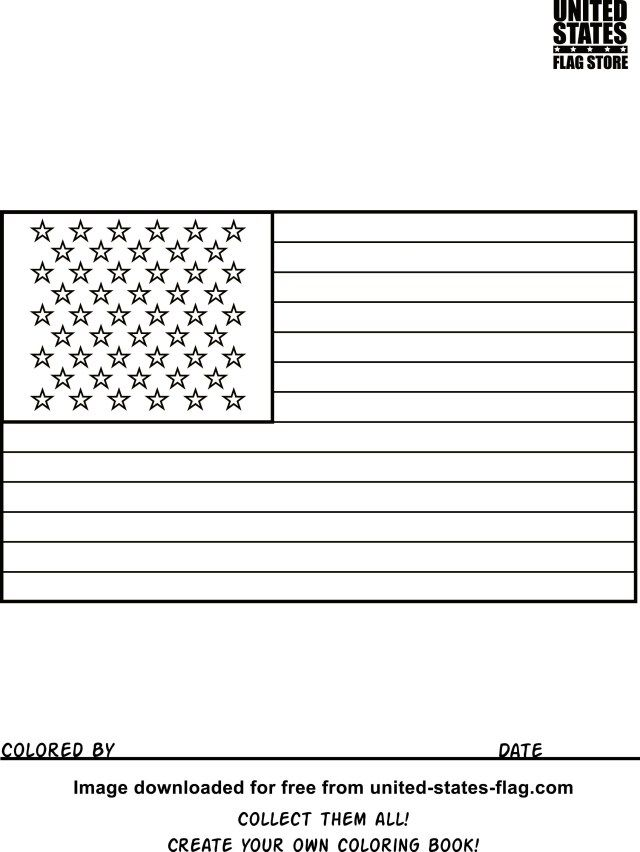 - 25+ Beautiful Photo Of Flag Coloring Pages - Entitlementtrap.com Flag  Coloring Pages, American Flag Coloring Page, Coloring Pages Inspirational