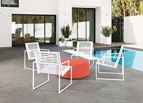 Boyd Ottoman Is Flexible Outdoor Furniture That Can Be Used For Outdoor  Seating Or An Outdoor Cocktail Table. Add One To Your Patio Furniture  Collection Fo