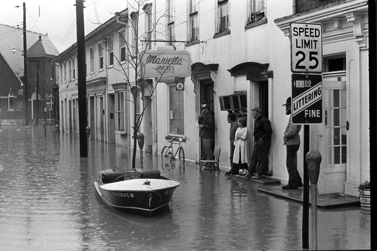 In marietta during hurricane agnes june 23 1972 lnp archived photo