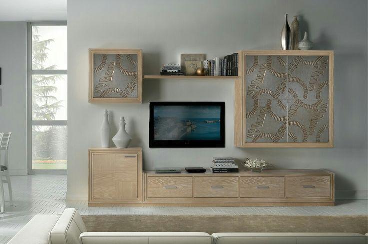Parete attrezzata moderna per soggiorno | Arredamento casa ...