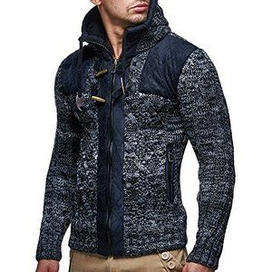 LEIF NELSON Men's Knit Jacket