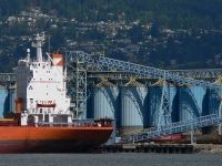 New Spill Response Study Finds Tanker Owners Not Financially Responsible for Damage Caused By Spills ... Photo - Kinder Morgan terminal Burrard Inlet