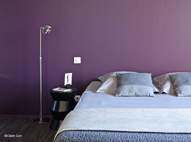 peinture quelle couleur pour ma chambre d co et violettes. Black Bedroom Furniture Sets. Home Design Ideas