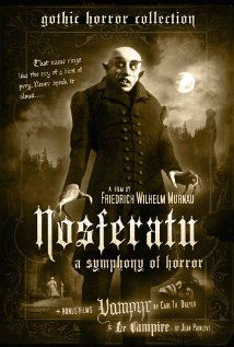 Nosferatu (1922)  Directed by F.W. Murnau.  Starring Max Schreck, Greta Schroder, and Gustav von Wangenheim.
