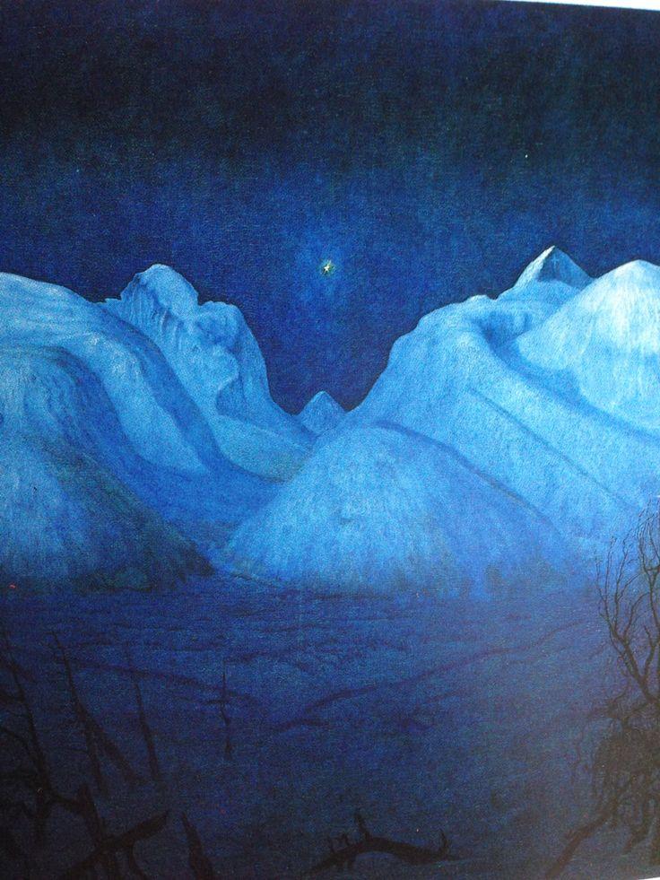 Harald Sohlberg's winter night