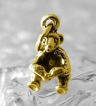 Bear reading book kids story time Gold plated over sterling silver charm JewelryAnimal Charms, Silver 925, Bears Reading, Kids Stories, Sterling Silver, Reading Books, Stories Time, Book Kids, Silver Charms