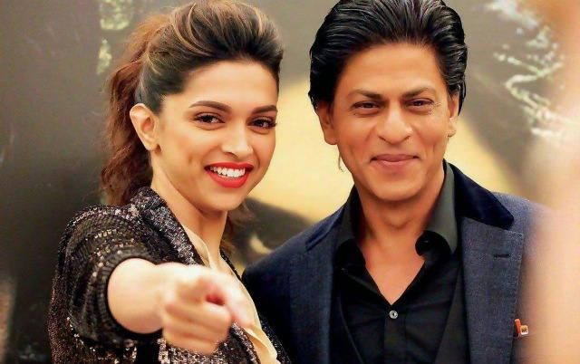 Deepika Padukone And Shahrukh Khan!