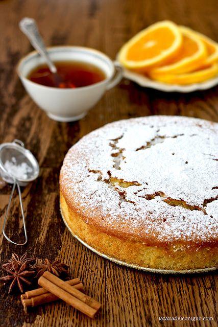 Orange Vegan Cake - torta vegana alle arance