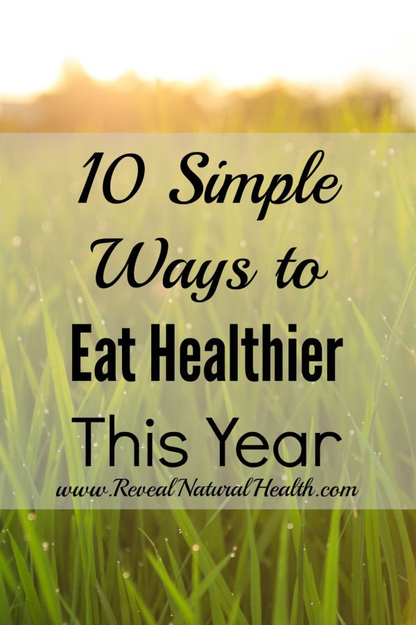 Striving for perfection is overwhelming. That's why I prefer SIMPLE ways to eat healthier.