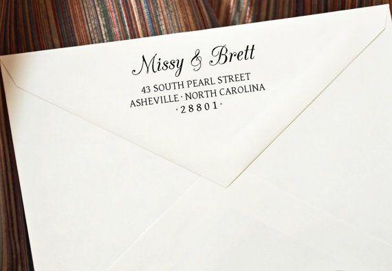 Custom Self Inking Return Address Stamp  by StampTheEnvelope