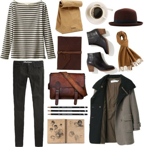 simple outfit coffee shop journeys and cobblestone pathways