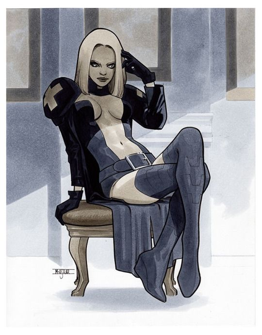 Emma Frost - NYCC 2016 Pre-Show Commission                                                                                                                                                                                 Más