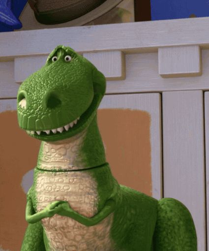 I got Rex! Which Cartoon Dinosaur Are You?