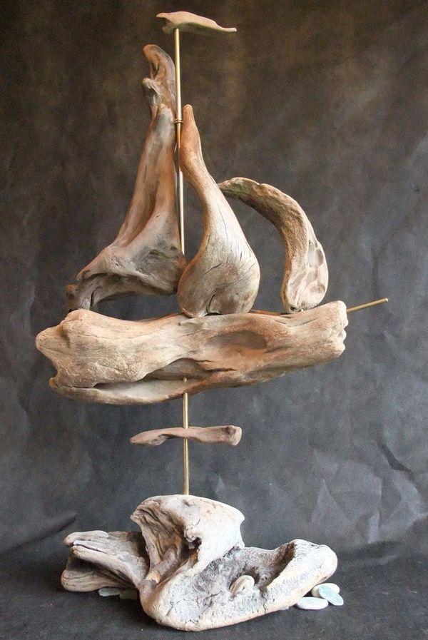 17 best images about bois flott on pinterest sea shells for Chandelier bois flotte