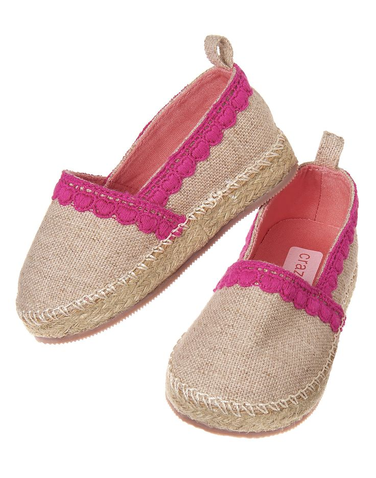 Embroidered Espadrille Flats at Crazy 8
