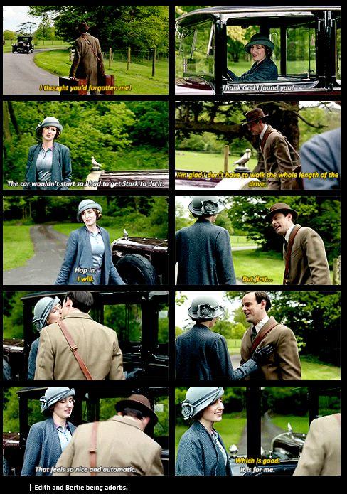 Downton Abbey | Season 6| Edith and Bertie